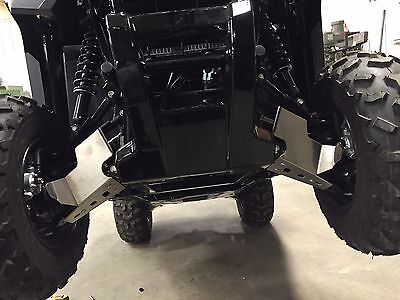 (HONDA PIONEER 500 2015-2018 FRONT A-ARM GUARDS 1/8