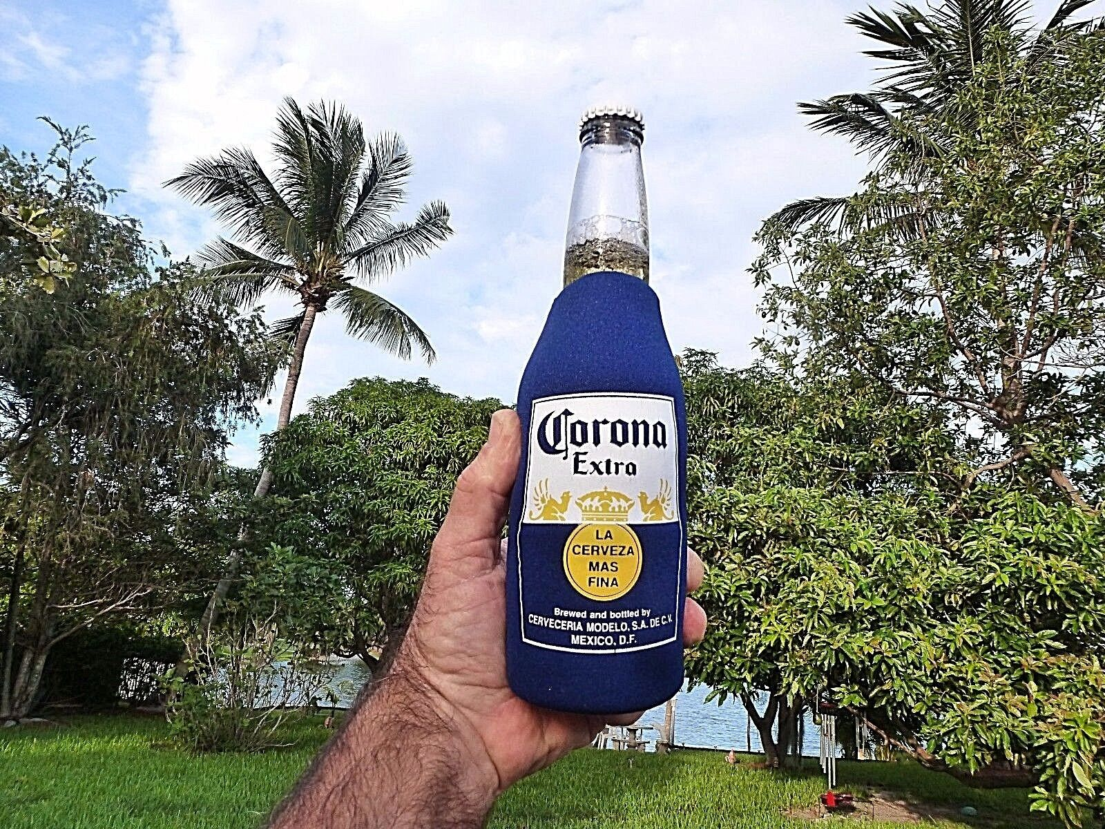 Corona Extra Beer Bottle Koozie Keeps Your Beer Cold For 1 O