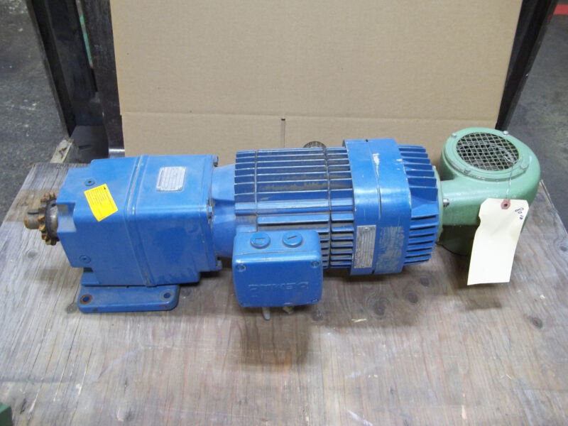 Sew-Eurodrive Electric Motor & Gear Reduction Reducer 460Y KPA-90-B-6/2