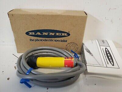 New In Box Banner Photoelectric Sensor 29823 S183e