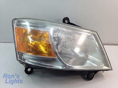 CHIPPED LENS | 2008 - 2010 Dodge Grand Caravan Headlight OEM RH (Passenger)