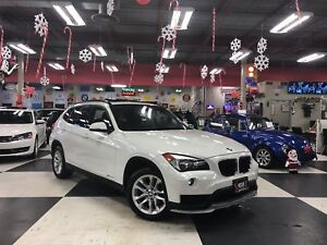 2015 BMW X1 DRIVE AUT0 AWD LEATHER PANO/ROOF BLUETOOTH 79K