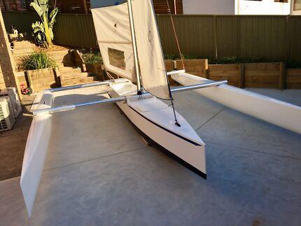 20ft demountable sailing trimaran