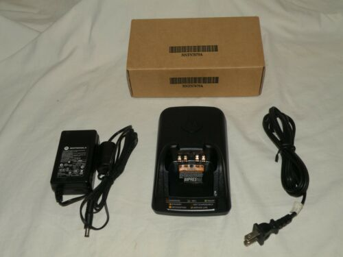 Motorola NNTN7079A Impres Battery Charger for APX 6000, 7000, 8000 Series,