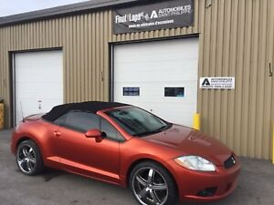 2009 Mitsubishi Eclipse convertible automatique super propre