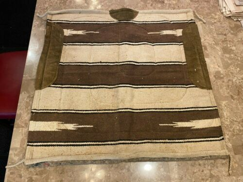 Vintage Thick Heavy Wool Backed Saddle Pad Blanket