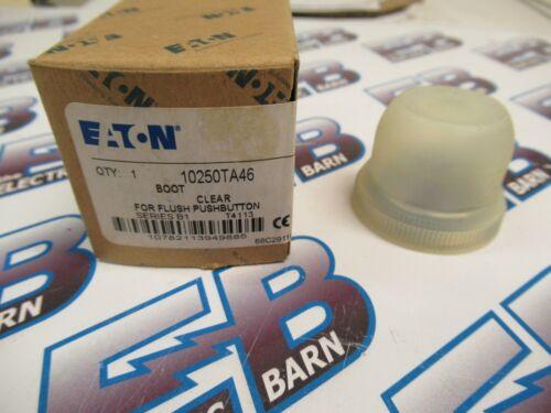 Eaton 10250TA46, Series B1, Clear Boot for Flush Push Button- NEW-B