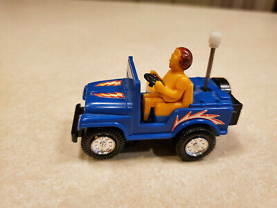 vintage plastic wind-up jeep, made in Japan. See description for condition detai for sale  Jasper
