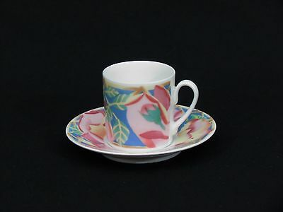 "Rosenthal Classic Pearl China Floral Cup & Saucer 2"" Germany"