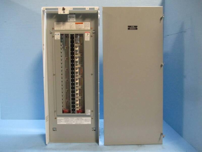 Eaton Cutler-Hammer PRL1A 225A 208Y/120 V 3PH 3W MLO Panelboard 2100 MCC Bucket