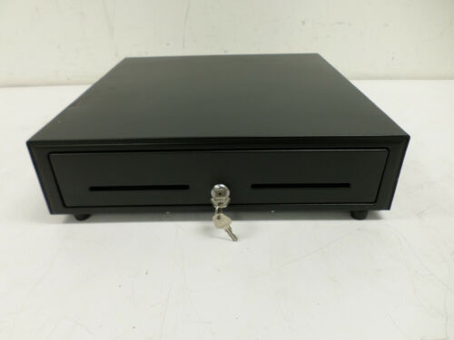 "Star Micronics Black Cash Drawer Pn 37965600 16.5"" X 16"" 5 Bill / 8 Coin 2 Keys"