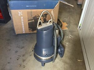 GRUNDFOS SEG.40.09 Submersible Grinding Pump (****6162) Myrtle Bank Unley Area Preview