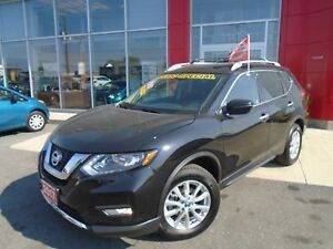 2017 NISSAN ROGUE SV AWD CAMERA HEATED SEATS SPORT MODE ALLOYS P