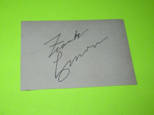 SIGNED AUTOGRAPHED FRANKIE LYMON PAPER CUT FROM MAGAZINE