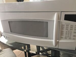 GE Profile Over the Range Microwave