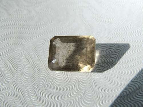Spotted Leopard Scapolite: Dots Floating in Transparent Smoky Gold; 5.5 cts