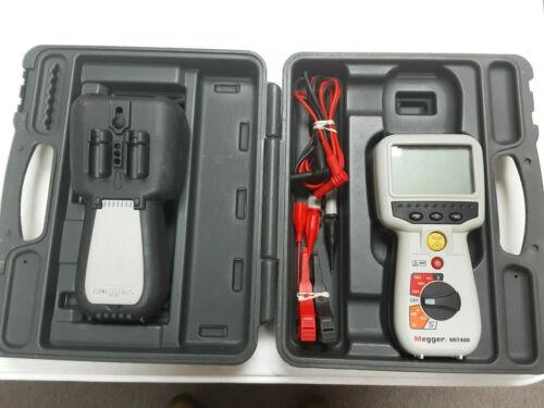(DP) (T-7557) Megger MIT-400 Megohmmeter Insulation Reststance Tester Kit