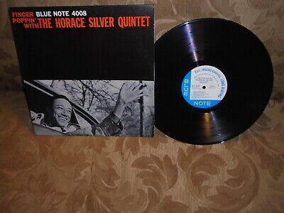 Finger Poppin' With The Horace Silver Quintet Blue Note 4008 47W 63 RVG mono ear