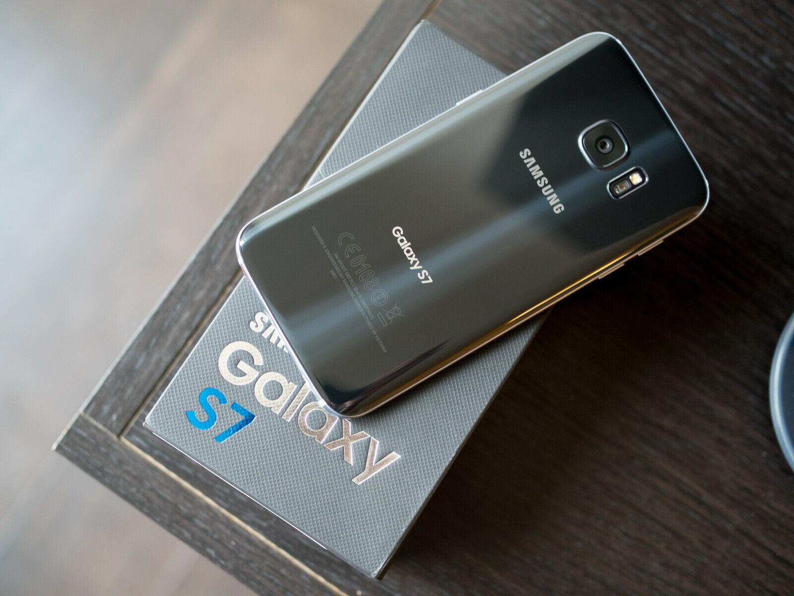 Android Phone - Samsung Galaxy S7 32GB G930U - AT&T Verizon Sprint Boost TracFone GSM Unlocked