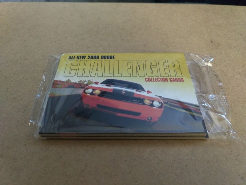 2009 Dodge Challenger Collector Cards - New In Package