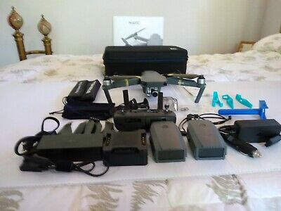DJI Mavic Pro 4K Video Camera Quadcopter Drone FLY-MORE-COMBO w/EXTRAS!!!!!