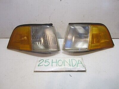 1986-1990 Acura Legend 4 Door Sedan Stanley Factory Corner Lights OEM Rare KA1