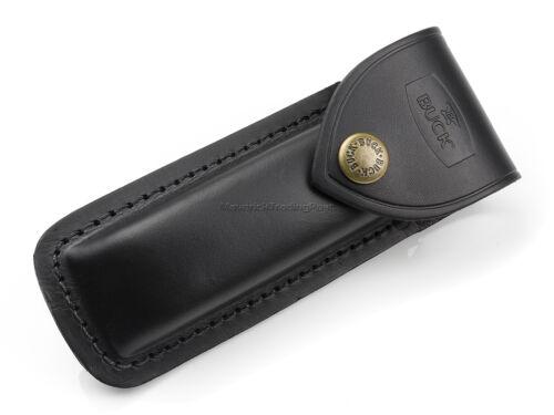 Buck 110 Folding Hunter Original Replacement Genuine Leather Belt Sheath BU110S