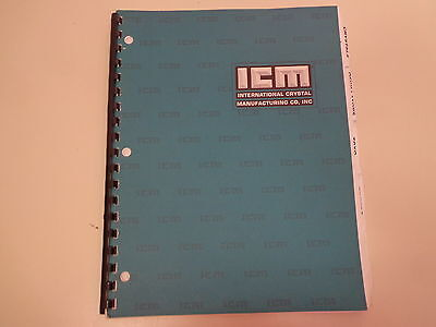 International Crystal Manufacturing Co Electronics Catalog 1980 S Parts