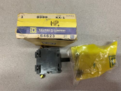 NEW IN BOX SQUARE D CONTACT BLOCK 9999 KX-1