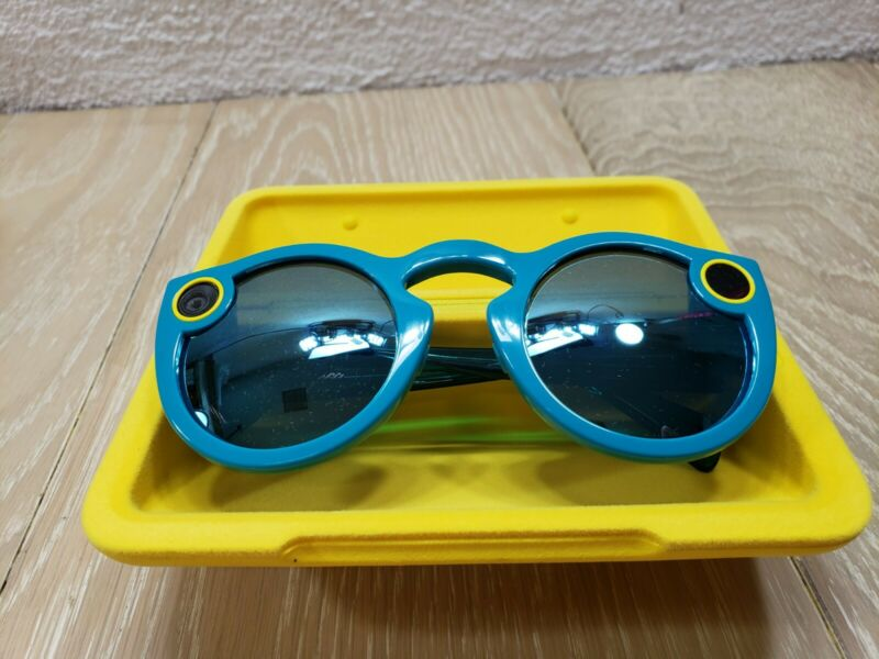 Snapchat Spectacles Glasses Teal V1 - NO CHARGER