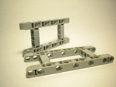 Lego Technic 731c01 Federbein Stoßdämpfer 4 Stück alt hellgrau
