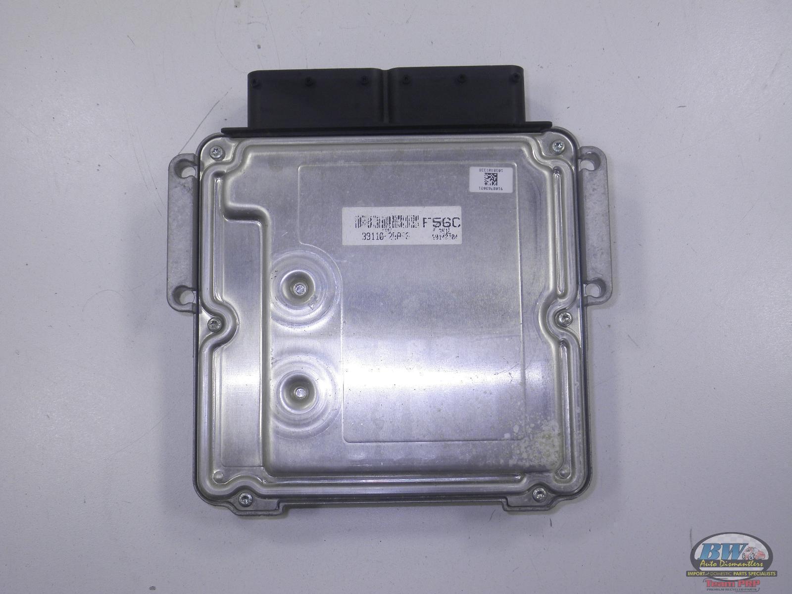 2014 Hyundai Accent Computer Brain Engine Control ECU ECM EBX Module 39110-2BAS9
