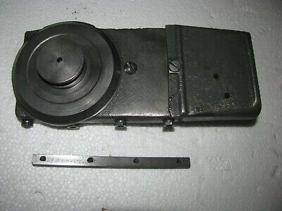 Vintage Atlas 10-12 Lathe Cross Slide With Chip Guard And Feed Nut