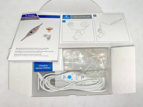 NEW Aerogen Aeroneb Solo USB Controller Starter Kit AG-UC2500-EE AG-UC1000