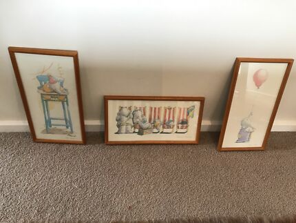 Framed Cartoon Picture 50cm 40cm Picture Frames Gumtree
