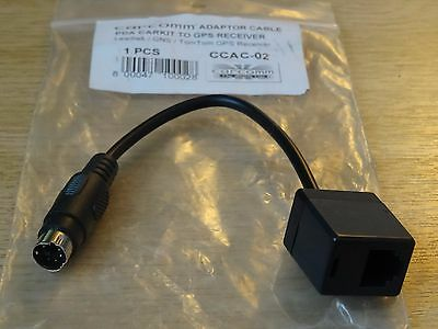 CCAC-02 Adaptor Cable GPS Tomtom Leadtek GNS PDA Carkit to GPS Reciever Adapter Tomtom Gps Pda