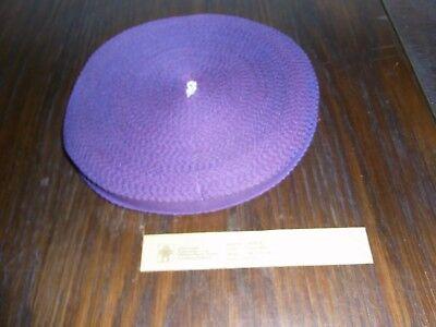 (0,20€/m) violettes lilanes Band/Borte 1,5cm breit 60m auf einer Rolle OPEW