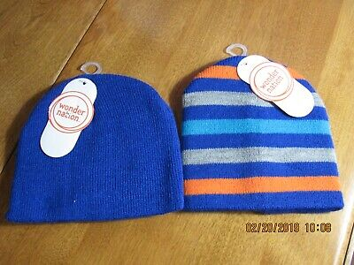 Knit Hats For Baby~ Toddler Boys' Wonder Nation New With Tags - Hats For Boys