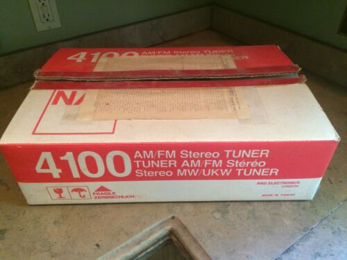 NAD 4100 TUNER - Excellent Condition