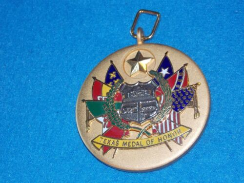 Texas Legislative Medal Of Honor REPLICA - 2 1/2 INCH