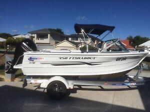 boat QUINTREX  suit NEW BUYER