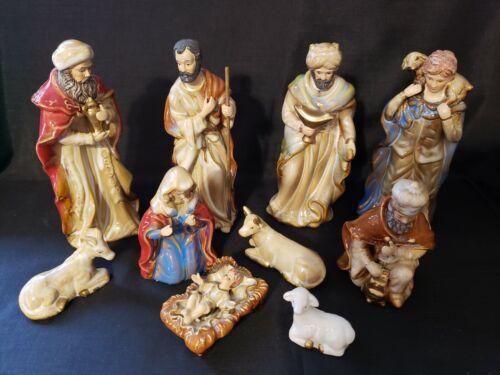 10 piece Nativity Figurines (Unmarked)