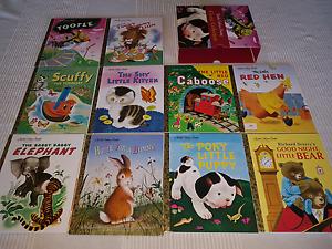 Set 10 Little Golden Books Hewett Barossa Area Preview