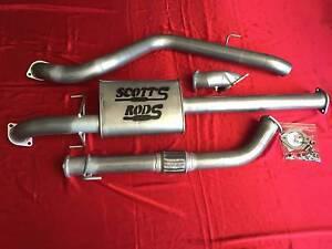 "4x4 Turbo Back Performance Exhaust Kits 3"" Scott's Rods West Ipswich Ipswich City Preview"