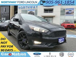2017 Ford Focus SEL | NAV | REAR CAM | MOON ROOF | HTD SEATS |