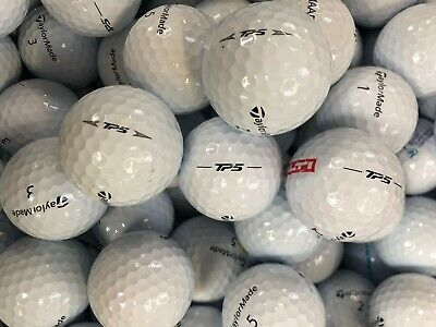 TaylorMade TP5 or TP5X Golf Lake Balls Pearl A grade SALE PRICE +50 wooden Tees