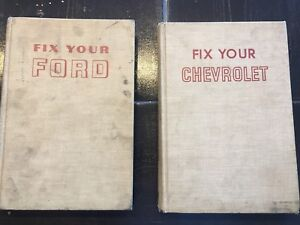 Fix your Ford, Fix your Chevrolet 1954-67