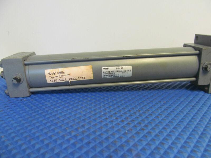 New Miller Pneumatic Cylinder AV-62B4B-02.50-12.000-0063-N11-0 Free Shipping