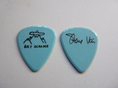 STEVE VAI DAVID LEE ROTH SKY SCRAPER 1988 TOUR ISSUED GUITAR PICK LIGHT BLUE