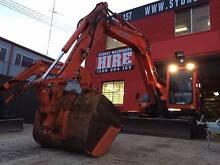 EXCAVATOR HIRE - 8 TONNE ZERO SWING EXCAVATOR DRY HIRE + BUCKETS Belmore Canterbury Area Preview